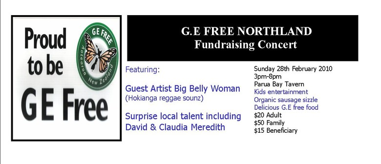 GE Free Norhland Celebration/fundraising Concert