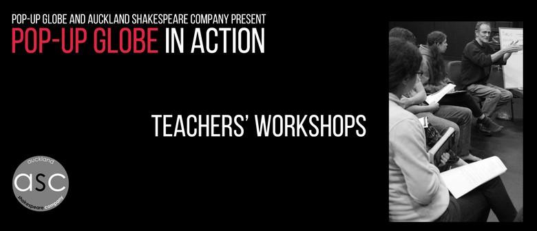Pop-up Globe In Action: Prof. Development for Teachers