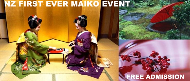 Jewels of Kyoto - Traditional Dance & Talk by Japanese Maiko