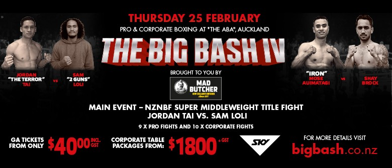 The Big Bash IV