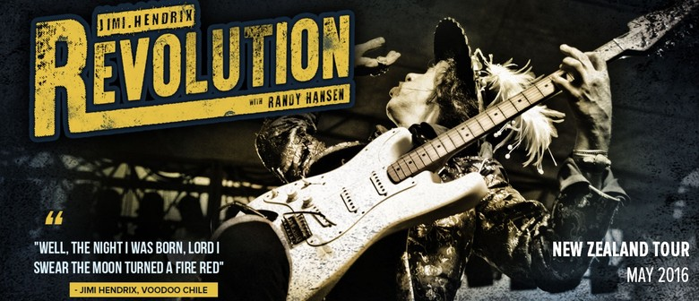 The Hendrix Revolution Tour with Randy Hansen: CANCELLED