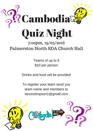Cambodia Quiz Night