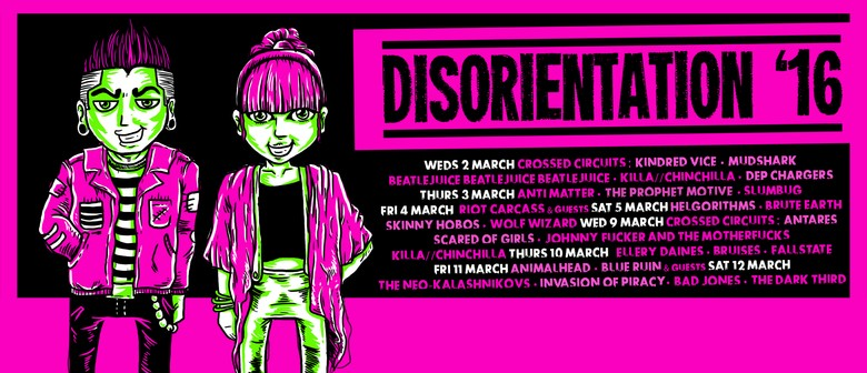 Disorientation with Helgorithms, Skinny Hobos & more