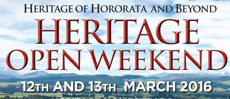 Heritage Open Weekend