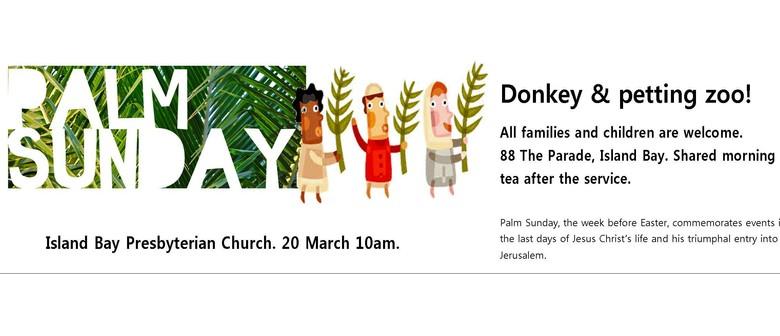 Palm Sunday With Animals