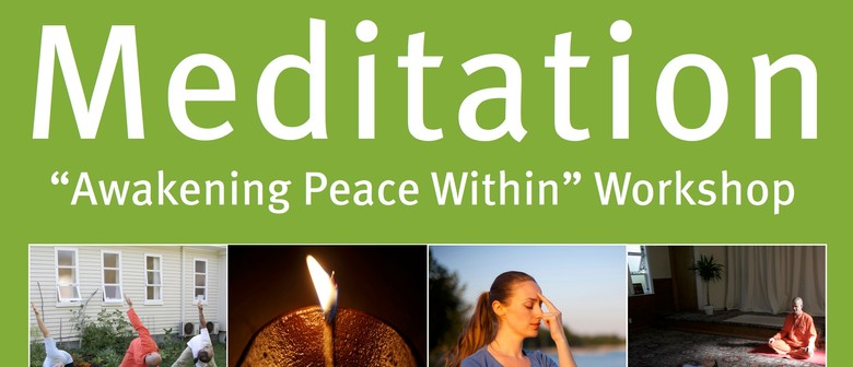 Awakening Peace Within - Meditation Day Workshop