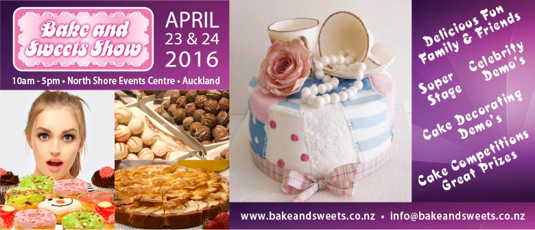 Bake and Sweets Show: CANCELLED