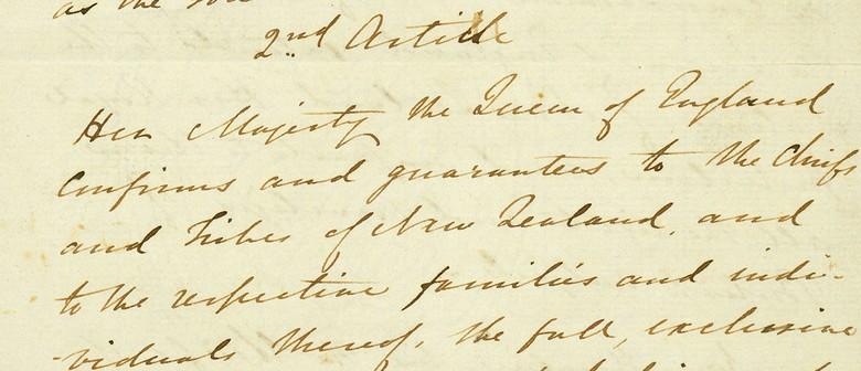 Treaty of Waitangi Exhibit
