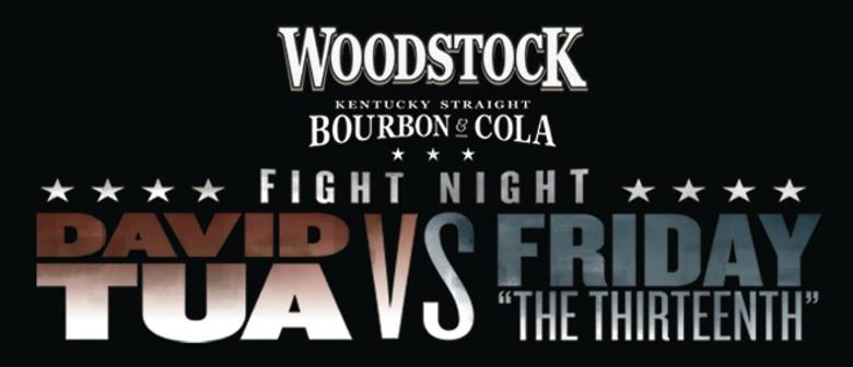 Woodstock Fight Night: Tua v Friday 'the 13th'