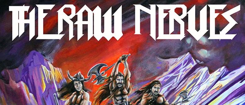 The Raw Nerves - More Nerves Vinyl Release show