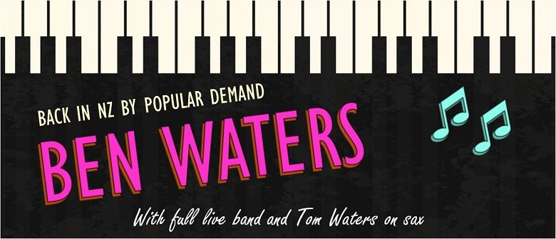 Ben Waters - An Evening of Boogie Blues and Rock 'n' Roll