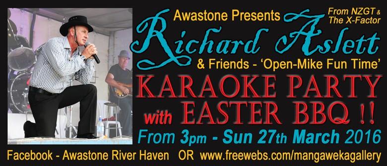 Richard Aslett & Friends - Open-Mike Karaoke Party