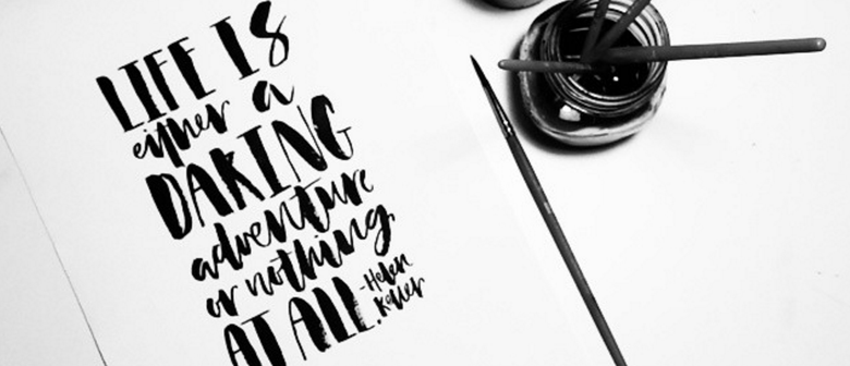 Introduction to Hand Lettering & Calligraphy