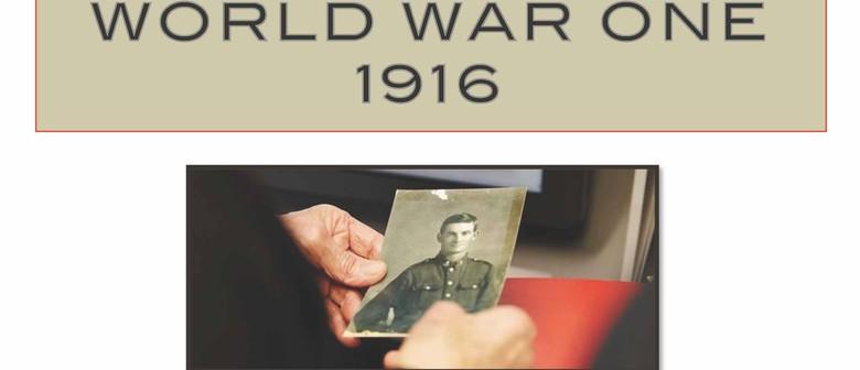 World War One 1916 Exhibition