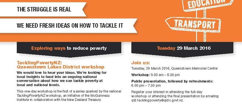 Tackling Poverty - Catalysing a National Conversation