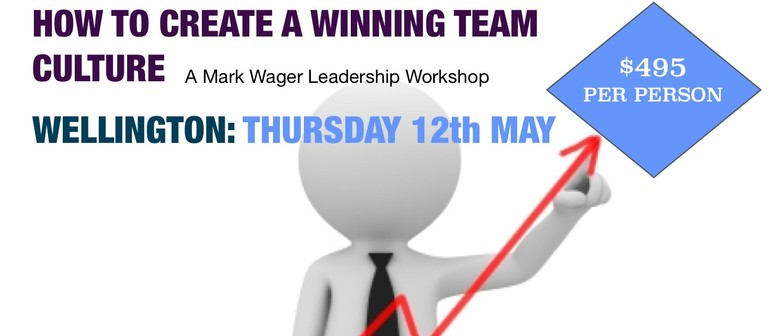 A Mark Wager Workshop: How To Create a Winning Team Culture