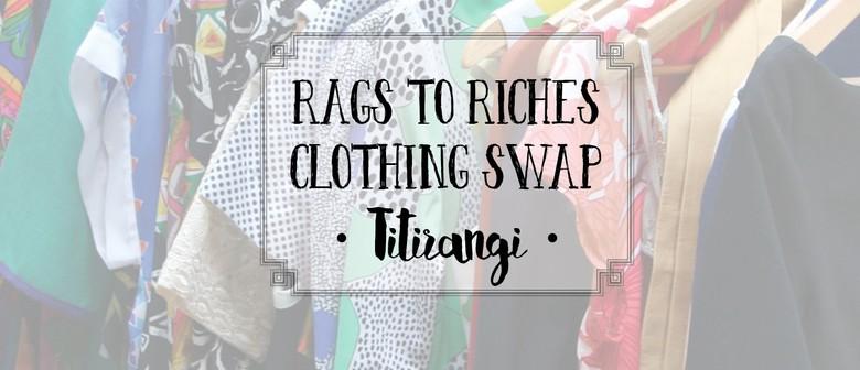 Titirangi Rags to Riches Clothing Swap