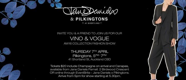 Jane Daniels - Vogue & Vino