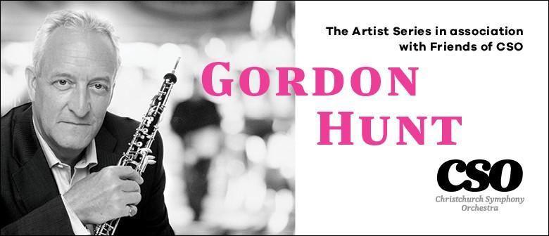 The Artist Series: Gordon Hunt