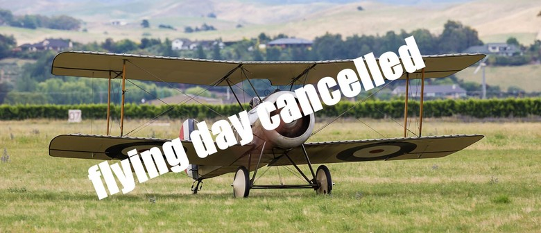 Omaka Flying Day: CANCELLED