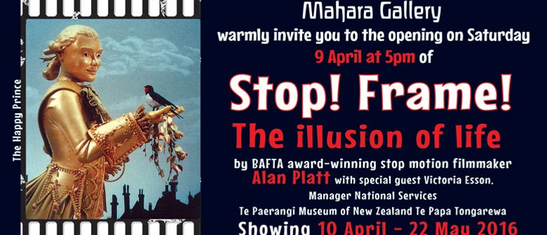 Stop! Frame! the Illusion of Life Exhibition Opening.