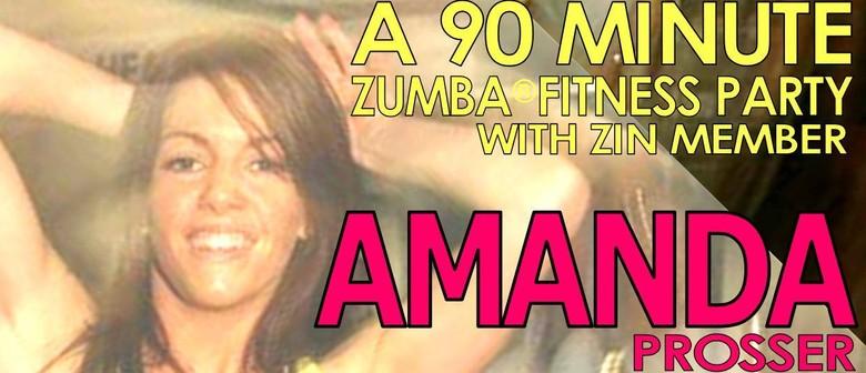 Zumba Fitness Party with Zin Amanda Prosser