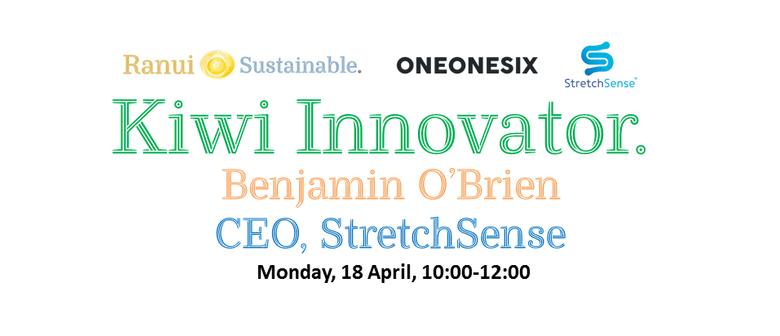 Kiwi Innovator Workshop - StretchSense and Ranui Sustainable