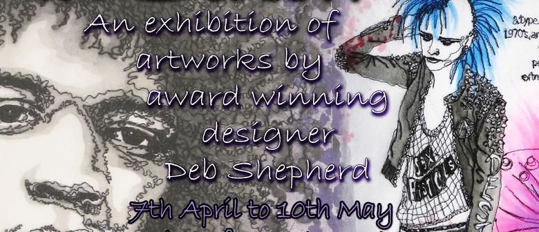 """In Stitch"" - Artworks by Deb Shepherd"
