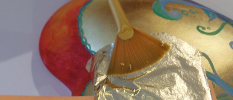 Go Potty Ceramic Studio Gilding Masterclass