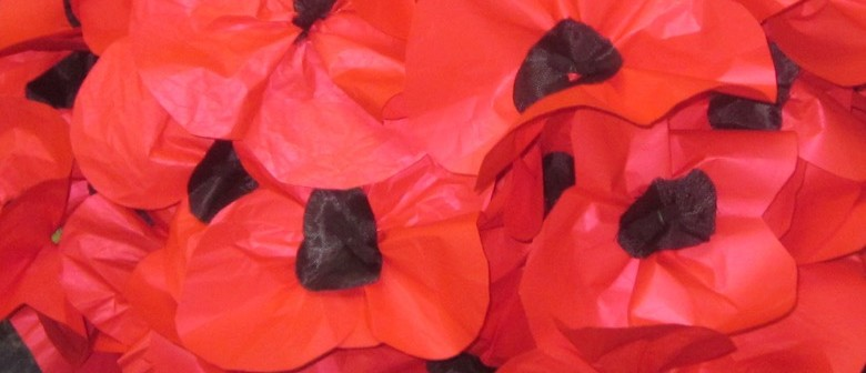 Trail of Poppies: Rotorua Poppy Making Workshops