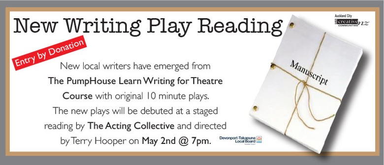 10 Minute Plays - Staged Reading