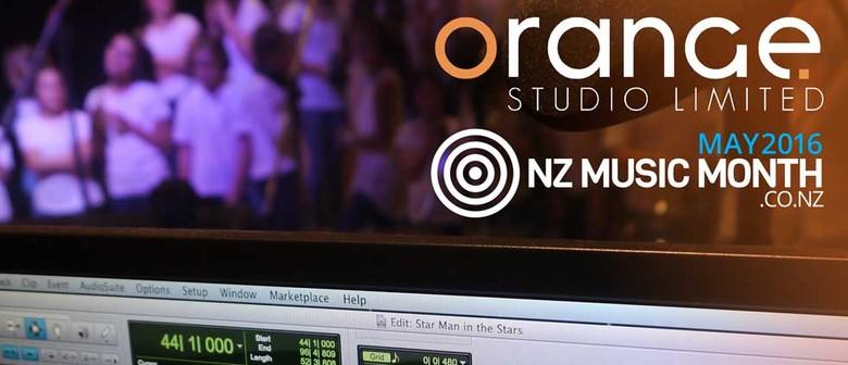 NZ Music Month Studio Tours – Junior Edition