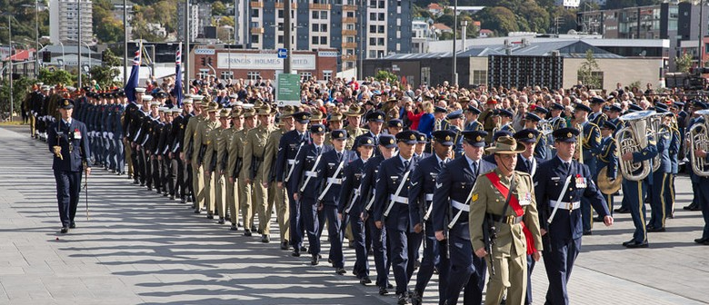 Anzac Day 2016 National Commemoration