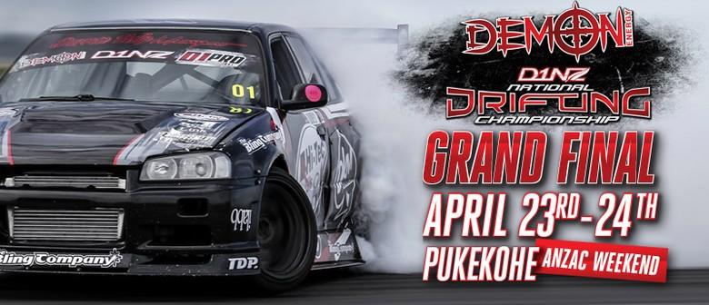 Demon Energy D1NZ Drifting: Pukekohe Grand Final