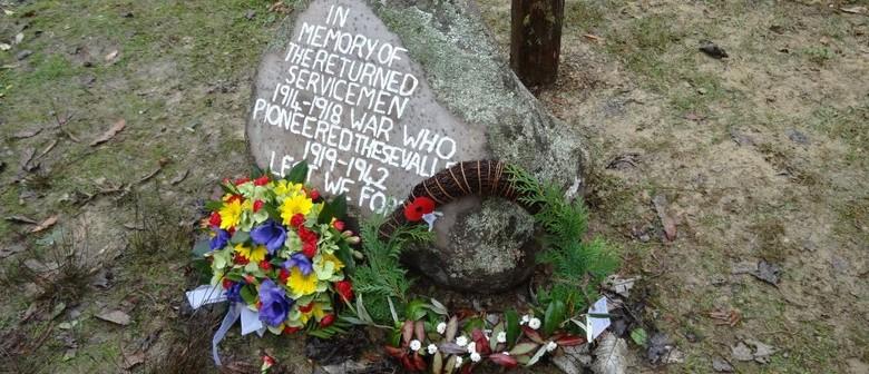 Mangapurua Memorial Installation and Anzac Service