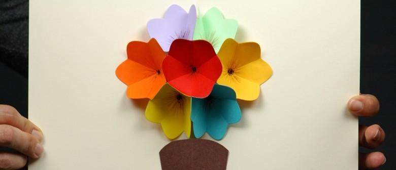 Mothers day flower popup card workshop lower hutt eventfinda mothers day flower popup card workshop mightylinksfo