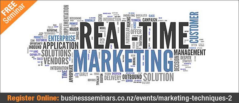 Effective & Efficient Marketing Techniques