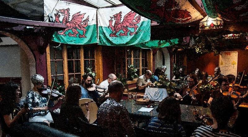 Celtic music session wellington eventfinda for 125 the terrace wellington