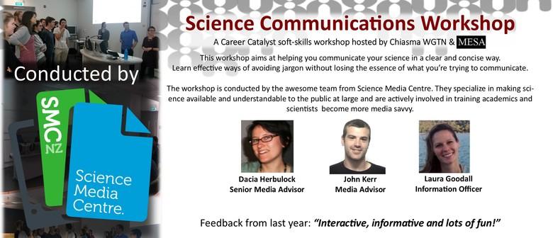 Science Communications Workshop