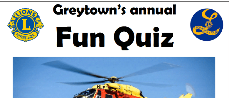 Greytown's Annual Fun Quiz