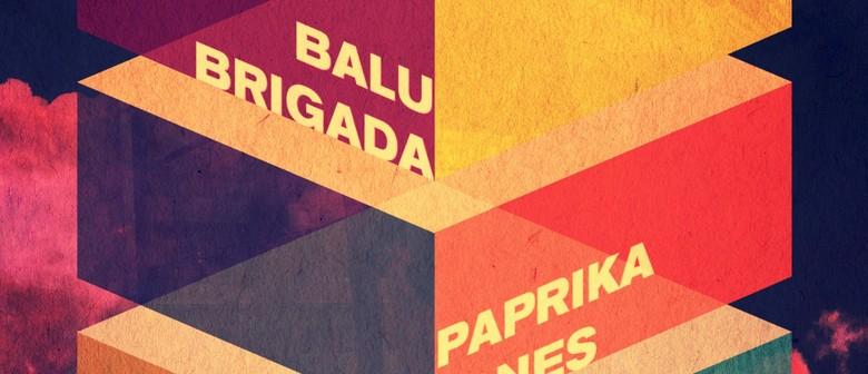 Being, Balu Brigada, Paprika Jones, Rachel Hamilton