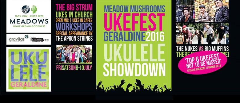 Geraldine Ukefest 2016 - Friday Workshops