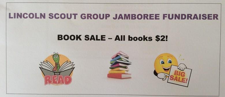Lincoln Scouts Jamboree Book Sale