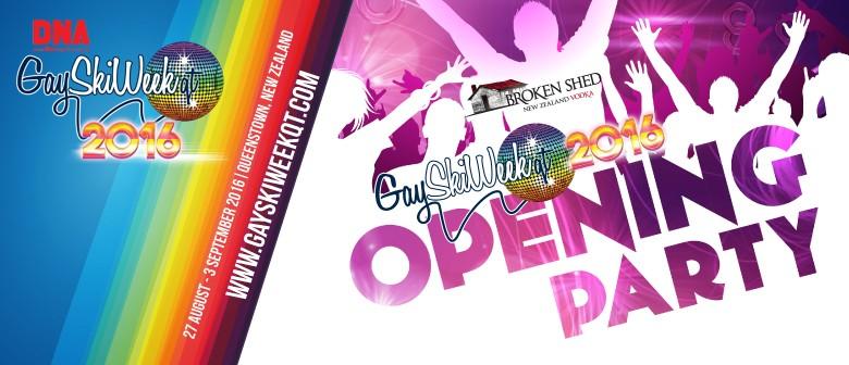 Broken Shed Gay Ski Week QT Opening Party