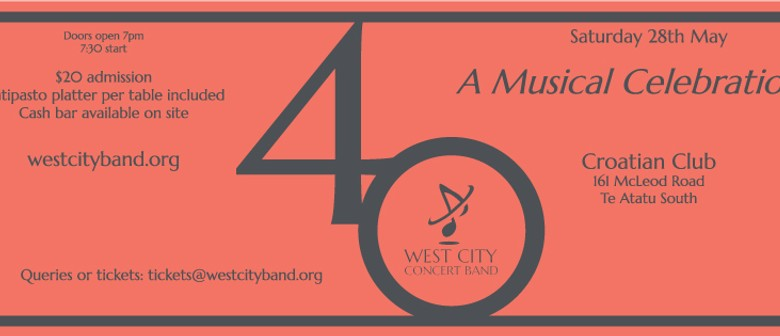 West City Concert Band - 40th Birthday Celebration