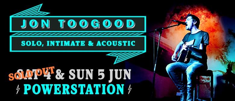 Jon Toogood - Solo, Intimate & Acoustic