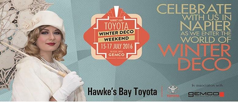 Speakeasy Burlesque - HB Toyota Winter Deco Weekend