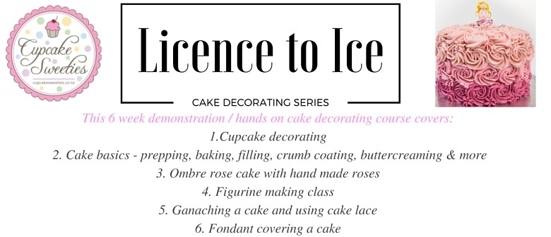 Cake Decorating Lower Hutt : Licenced to Ice - Cake Decorating Series - Lower Hutt ...