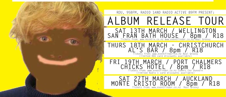 Connan Mockasin Album Release Tour