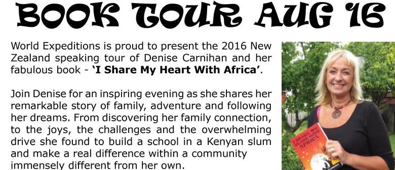 Denise Carnihan 2016 New Zealand Book Tour